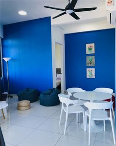 Photo for De Blue Cabin, SK 3B-33-5, Arte S, Penang, For maximum 4 paxs.