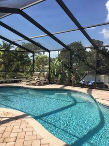 Photo for 3/2 Apollo Beach Waterfront Home with Private Pool & Boat Lift/Dock