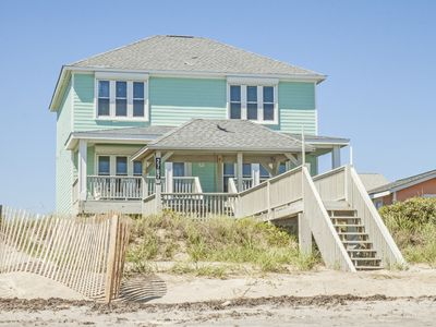 Photo for Beach Baby: 5 Bed/3.5 Bath Spacious and Comfortably Decorated Oceanfront Home