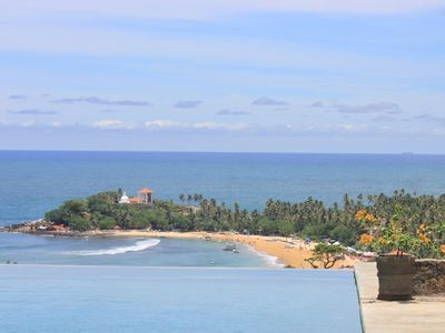Photo for Far Horizons Villa. 5 aircon bedrooms. Spectacular views over Unawatuna bay.
