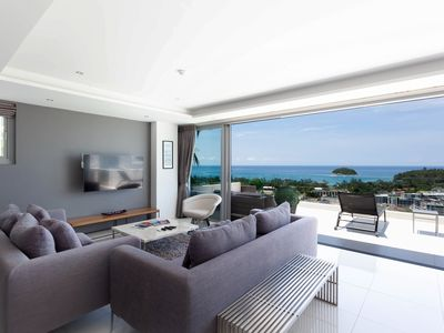 Photo for LUXURY 2-BDR VILLA WITH 180° SEA VIEW
