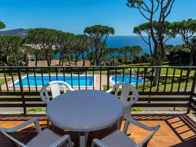 Photo for 4 bedroom Apartment, sleeps 8 in Calella de Palafrugell with Pool