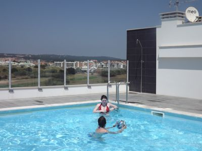 Photo for Apartment w/Shared Rooftop Pool & Gym w/Sea Views In Countryside Location
