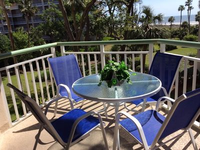 Photo for Luxury De--Stress  Oceanfront Free Beach Bikes, Beach Chairs, Umbrella