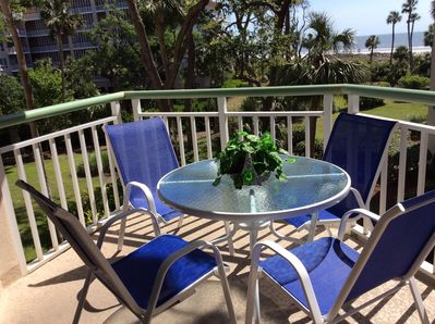 628553607679 Luxury De--Stress Oceanfront Free Beach Bikes, Beach Chairs, Umbrella. Hilton  Head ...