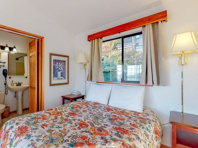 Photo for Dog-friendly studio suite w/amazing ocean views! Walk to beach, eateries, more!