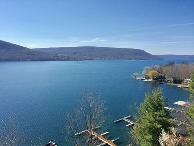 Photo for Canandaigua Lake Condo Superior Views and Summer Relaxation in the Fingerlakes