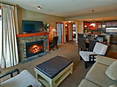 Photo for 2 Bedroom Luxury Suite at the Blackstone Mountain Lodge #1