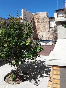 Photo for Central townhouse with patio and pool in Capdepera- 2 bedrooms, 4persons