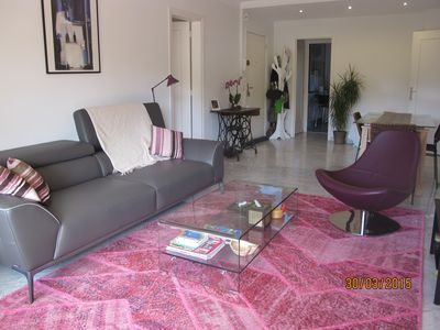 Photo for T4, garden and terrace, bright, quiet, pool and tennis, 2 large terra