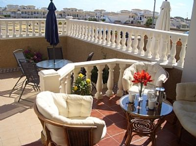 Photo for Spanish Town House, 2 Large Pools With Lovely Gardens Located Costa Blanca South