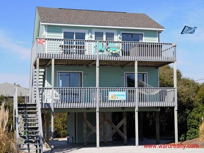 Photo for 4 BR 2nd Row home with Awesome Ocean Views & HOT TUB!! - The Sandcastle