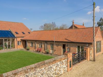 Photo for This gorgeous barn conversion is in the most delightful of settings