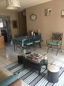 Photo for Apartment ground floor garden, 4 people, pool, La Teste de Buch, close to shopping