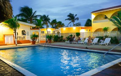 Photo for Coconut Inn Bed and Breakfast with a tropical Caribbean atmosphere.
