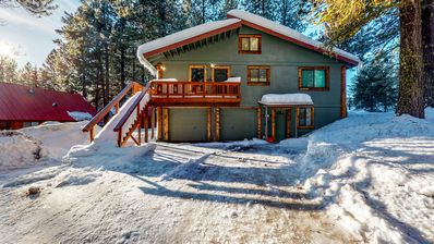 Photo for NEW LISTING! Large private home w/ wood stove & fireplace - near McCall & lake!