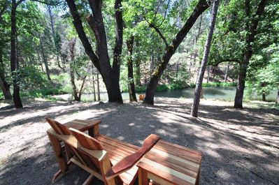 Backyard/Lake view, View 3. Unit 4 Lot 82 Vacation Rental (My Huckleberry Hideaway)