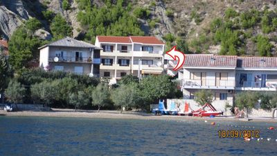 Photo for Studio appartment in Duće (Omiš) capacity 2+2