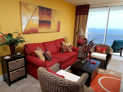 Photo for 2BR/2BA Upgrades in Every Room Master on Gulf a New King Bed (Sleeps 6)