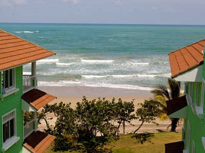 Photo for Caribbean style ocean view Condo, located in Cabarete