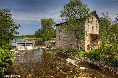 The Country Suite is  on the second floor of our converted 1832 flour mill