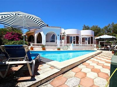 Photo for Stunning Family Villa With Private Pool And Sea Views