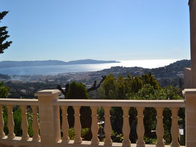 Photo for CAVALAIRE near St Tropez Mazet 6 pers sea and bay A180 ° - Swimming pool