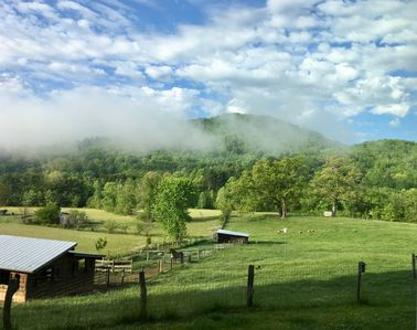 Photo for Fodderstack Farm - Rustic Luxury Converted Barn with Views: Pisgah-Dupont area