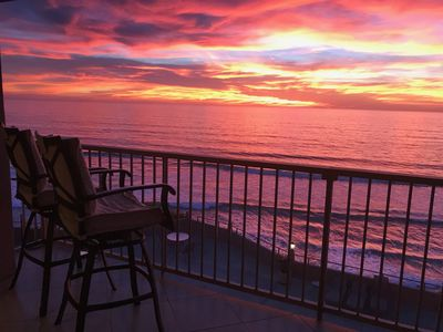 Photo for Incredible Oceanfront Condo- 2 Bdrm Del Mar Beach Club - Stunning ocean view