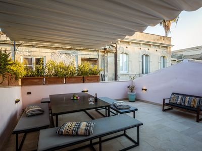 Photo for 170 sqm house, on 3 levels, top floor terrace, 50 m from the seA
