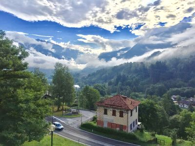 Photo for Lovely apartment in the mountains for a big family