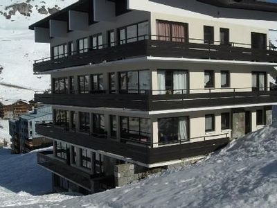 Photo for The lavachet, skiing, 2 bedrooms 6-8 people, large balcony facing south Double exp