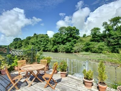 Photo for Plush Holiday Home overlooking Petherick Creek in Cornwall