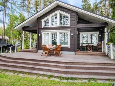 Photo for Vacation home Villa ina in Evijärvi - 6 persons, 2 bedrooms