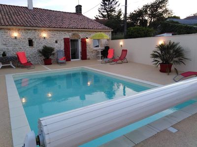 Photo for Gite de Rousseau 4 stars with heated pool