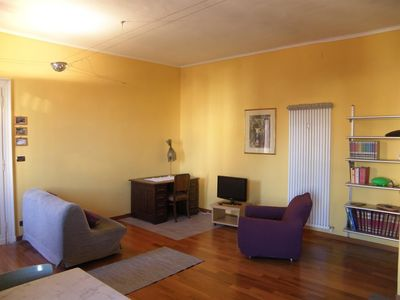 Photo for Apartment 74 m from the center of Turin with Internet, Lift, Washing machine (418542)