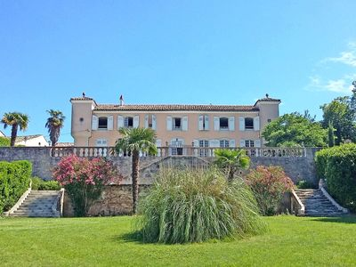 Photo for UNUSUAL: Family castle with pool for 25 people!  30 € / day / per