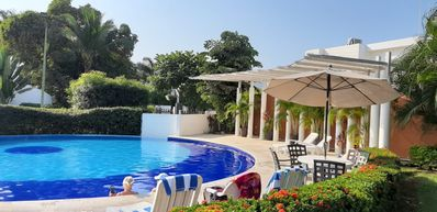 Photo for Spacious House with Pool, 5 minutes to the Beach.