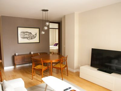 Photo for Modern apartment at city centre with private parking