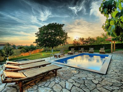 Photo for Villa with pool with enclosed green garden