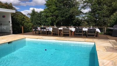 Photo for BEAUTIFULLY APPOINTED HOME ON 2 ACRES, WITH POOL. IN THE NATIONAL PARK