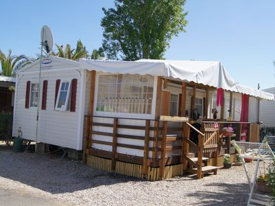 Photo for rent mobile home in holiday village la carrabasse 4 **** in vias