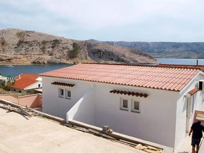 Photo for Apartment in Metajna (Pag), capacity 2+3
