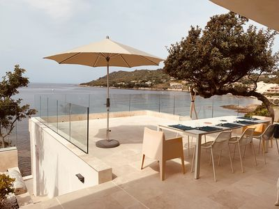Photo for Private waterfront villa 110m2 refurbished in 2018