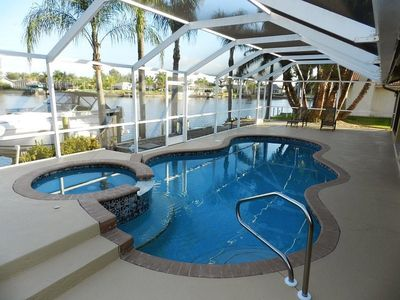 Photo for Beautiful Water Views at this SW Cape Coral Location!
