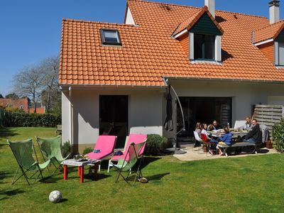 Photo for Magnificent house Neuve - beautiful garden - classified site - 6 people