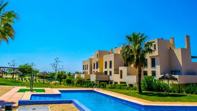 Photo for Large apartment in Corvera Resort for 6 with air conditioning, WiFi and 3 swimming pools