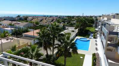 Photo for Large Apartment With Great Views  & Day Long Sunshine over 2 Terraces