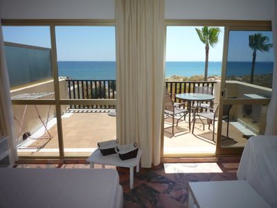 Photo for first line beach marbella studio penthouse, corner south west 180 º seaviews