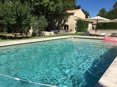 Photo for Charming Mas in Provence, Large Pool, Garden and Shaded Courtyard
